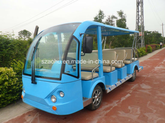 14 City Buses, Environmentally Friendly and Convenient Small Electric Buses From The Ao Hu Brand, Meet The Needs of People Living and Travel pictures & photos