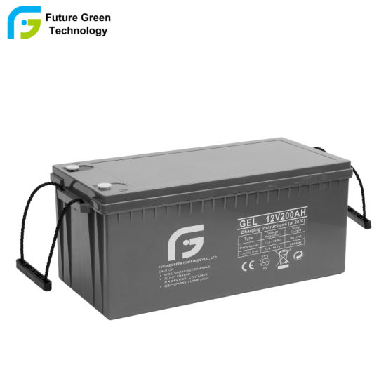 200ah12V Gel Solar Battery Factory Direct with Good Quality and Cheap Price