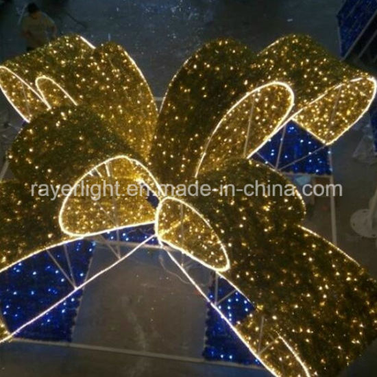 Led Large Gift Box Christmas Lighted Outdoor Decorations
