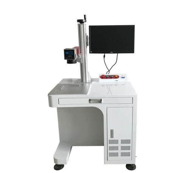 Fiber Laser 10W Desktop Laser Printer/Desktop Laser Marking Machine/Desktop Marker for Plastic Bottle /Aluminium Product/Metallic Products
