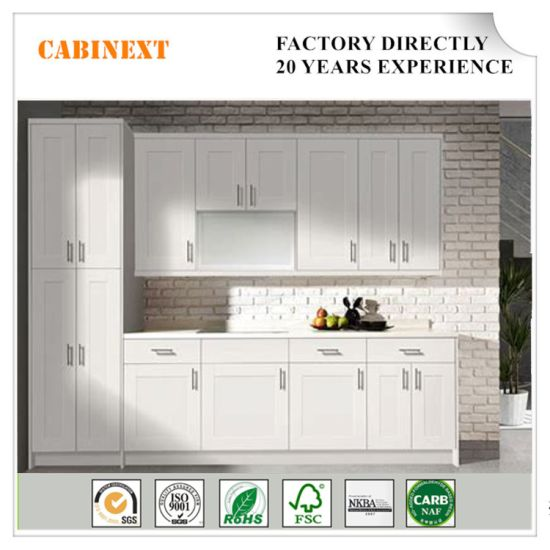 China 2018 Newly Solid Wood Kitchen Cabinets with Plywood ...