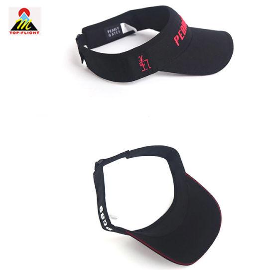 6f706658ffbbf0 China Custom Fashion Golf Sport Sun Visor Cap - China Fashion Hats ...