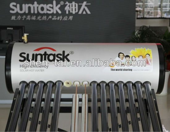 Integrative Pressurized Solar Water Heater With Heat Pipe Pictures Photos