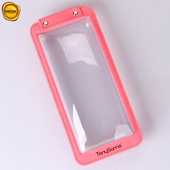 Sinicline Portable Pink Plastic Clear Blister Phone Case Box pictures & photos