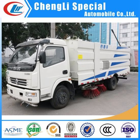 Dongfeng Isuzu 7ton 7m3 Vacuum Suntion Road Sweeper for Sale