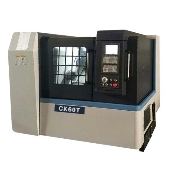 Model CK42T China CNC Slant Bed lathe machine for heavy duty cutting
