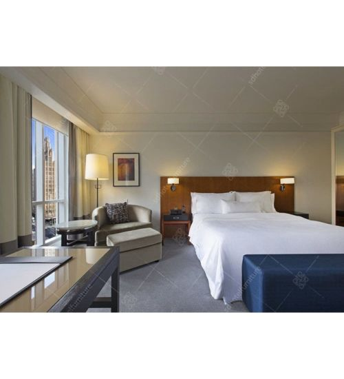 Custom Made Hyatt Hotel Jordans Furniture Bedroom Sets Guangzhou (EL 06)