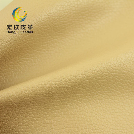 Embossed Pattern 0.8mm Thickness PVC Artificial Leather