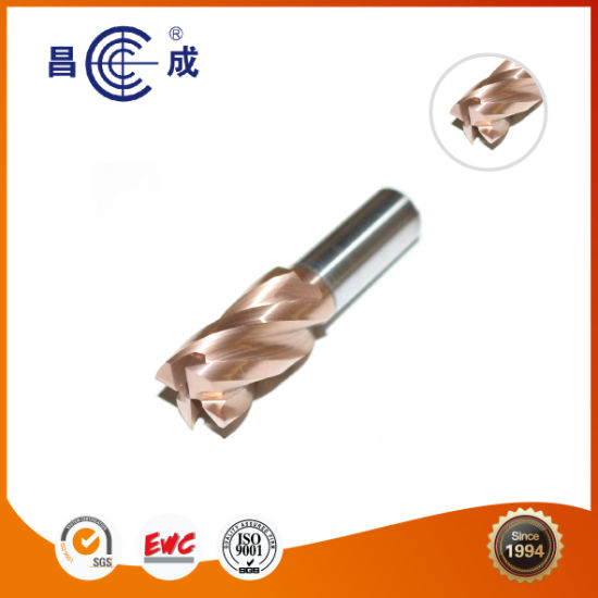 HSS 4 Flutes Coating End Mill Bit for CNC Router Machines pictures & photos