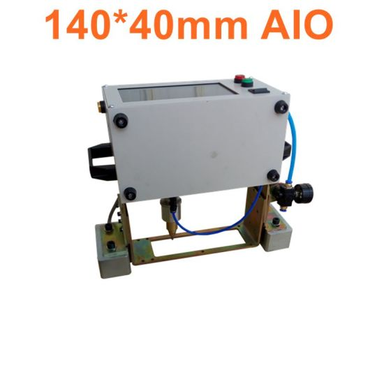 Hot Supply CNC DOT Peen Marking Machine for Chassis Number Vin Number Marking Pneumatic Marking Machine for Stainless Steel