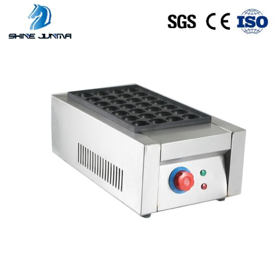 Electric Stainless Steel Body Fish Ball Takoyaki Maker pictures & photos