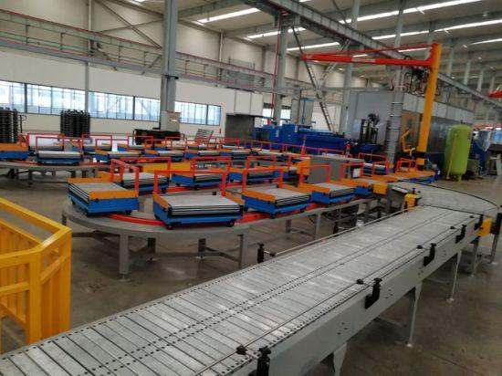 High Quality Chain Plate Conveyor, Plastic Slat Chain Conveyor System