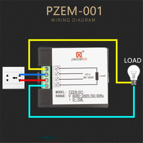 China Pzem-001 360 Degree LCD AC 0-10A Single Phase Kwh Meter ... on single timer wiring diagram, single phase panel diagram, single phase kwh meter, electrostatic field meter circuit diagram, single phase wiring basics, baldor single phase motor diagram, single phase meter box, single phase motor wiring diagrams, electrical meter schematic diagram, single phase power meter, phase meter circuit diagram, single phase meter system, electric meter diagram, single phase meters and 3, single phase motor 6 wire connection, single phase drum switch connection diagram,