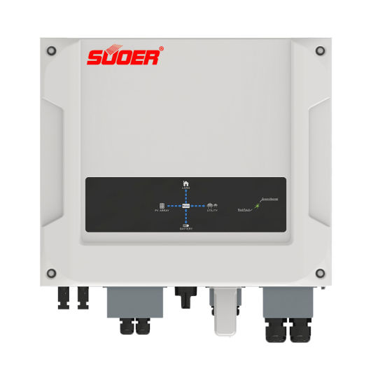 Suoer 5000 Watt on off Grid Tie Solar Hybrid Energy Storage Inverter 5kw 5000W Power Backup Invertor pictures & photos
