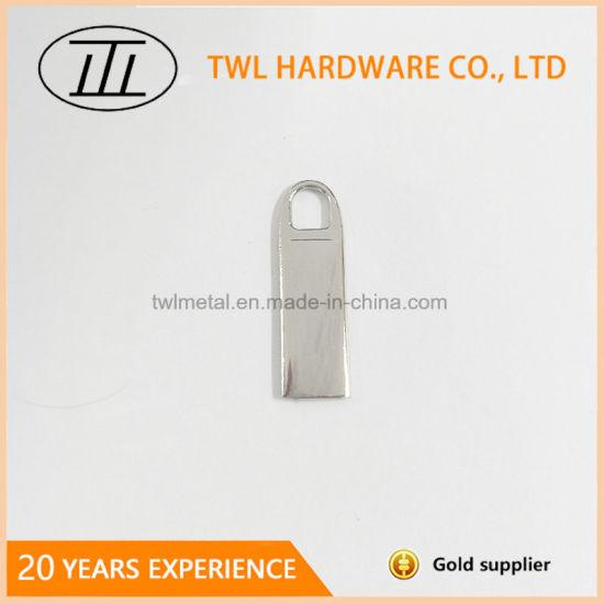 Metal Head Custom Size and Color Zipper Puller