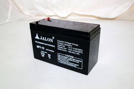 12V7ah Sealed Lead Acid Power Battery for Standby System