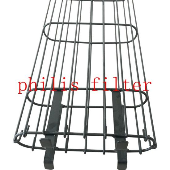 Oval Filter Bag Cage for Bag House Dust Filtration