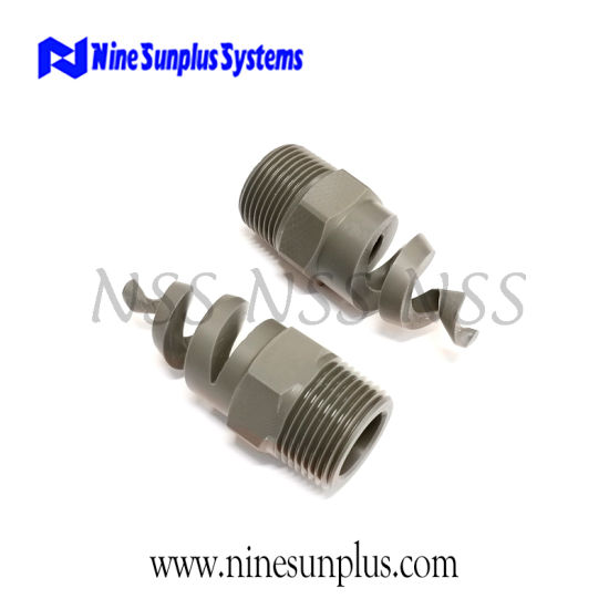 Washing Machine PVC Spiral Nozzles for Dust Suppression