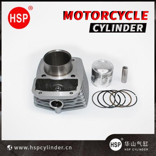 Motorcycle Parts Cylinder Block Kit for Honda CG125 (STD) (SMALL FIN) (LARGE 62mm) CG100 CG150 CG175 CG200 CG250 CG300