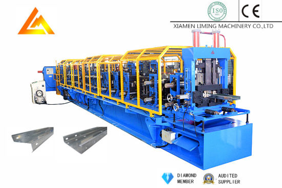 Steel/Stainless Steel/Color Steel High Speed Full Automatic Roll Forming Machine for CZ Purlin