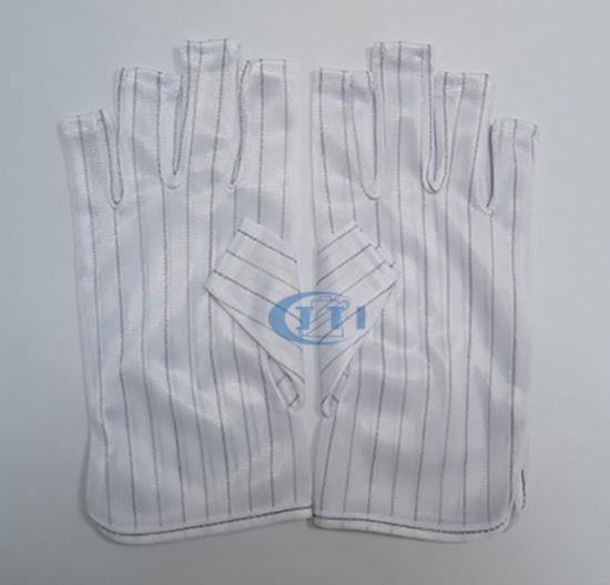 Antistatic Gloves (half finger) for Clean Room Open Finger