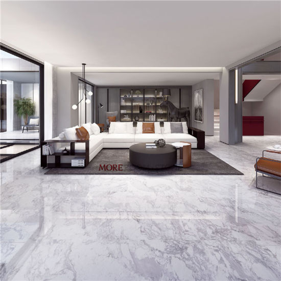 32x32mm Marble Looking Polished, Tiles For Flooring In Living Room