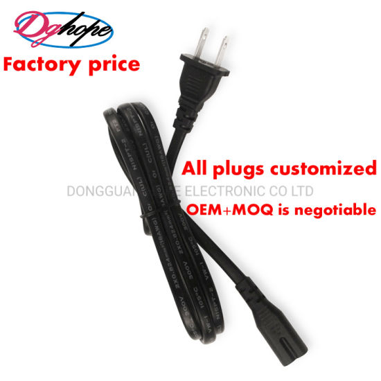 America Canada UL Power Cord Dghope High Quality Power Cable