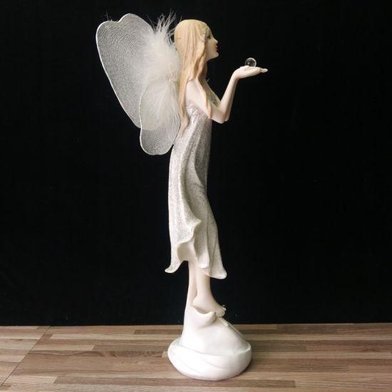 China Wholesale Custom Resin Figure Miniaure Garden Fairy