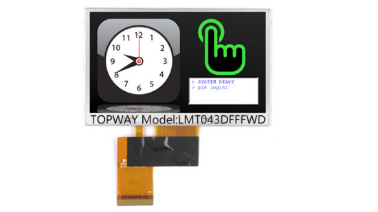 4.3 Inch 480X272 RGB Interface Color TFT LCD Display Module pictures & photos