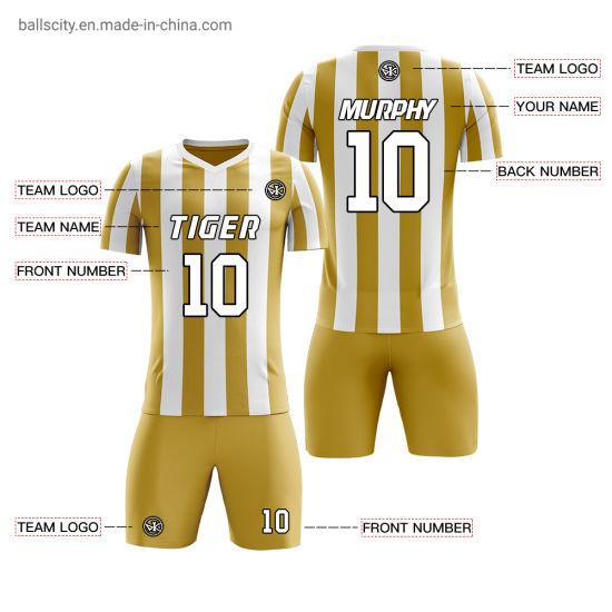 Custom 2019 Hot Football Jersey Sports Soccer Uniforms