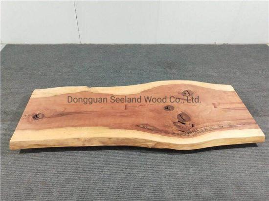 Red Cedar Wood Slab With Live Edge