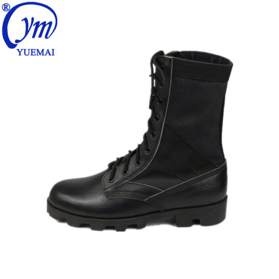 Anti-Slip Genuine Leather Swat Combat Police Army Military Tactical Boots
