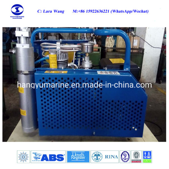 China 300bar High Pressure Air Compressor with Capacity of