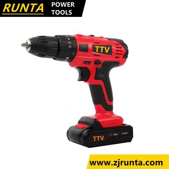 Hot Sales Lithium Power 10.8V/14.4V Runta Cordless Drill (CD102)
