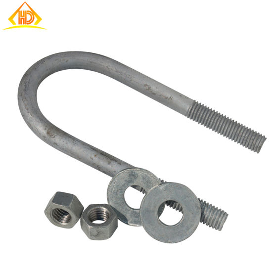 China Stainless Steel 316 Pipe Clamp U Bolt - China