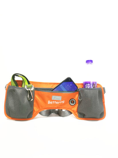 Waterproof Waist Bag for Pet Training Sports Orange