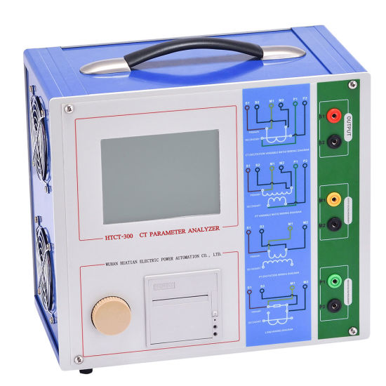 Htct-300 Portable Fully Automatic Current Transformer CT PT Test Equipment Price pictures & photos