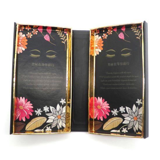 Customized Private Label Eyelash Eyelash Box