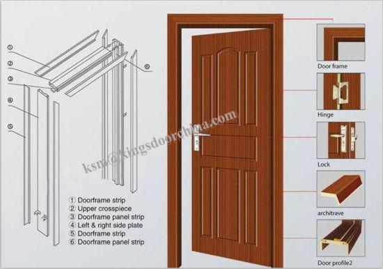 China Interior Waterproof Bedroom Office Bathroom Doors Factory Supplier China Doors Bathroom Doors
