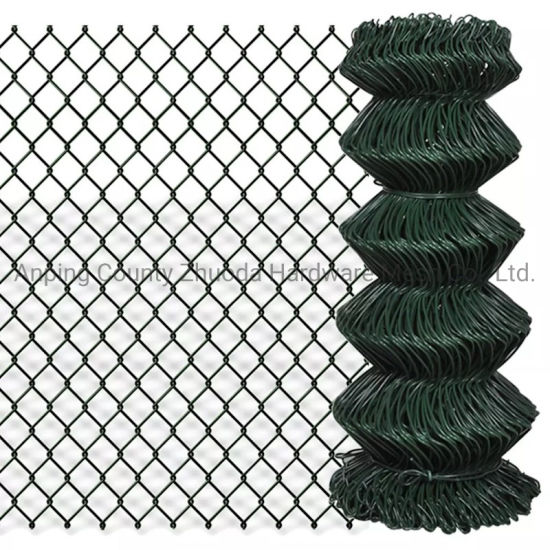 Amazon Ebay Choice Hole 50mmx50mm PVC Coated Galvanised Chain Link Fencing Mesh (CLFM)