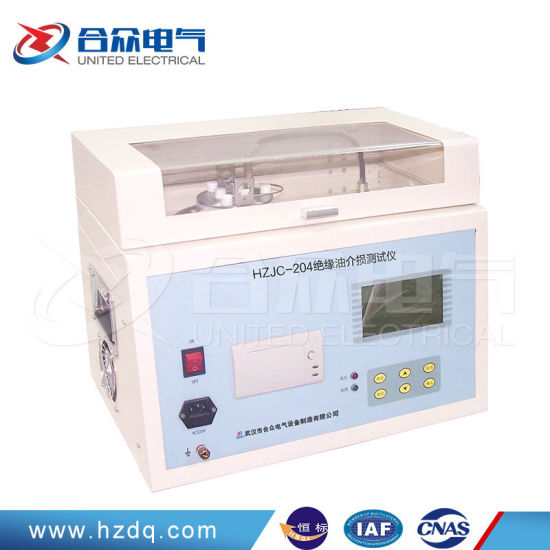 Intelligent Transformer Oil Dielectric Loss Lab Equipment