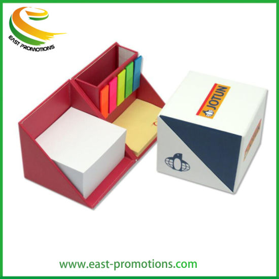 Manufacturer Custom Stationery Sticky Note Memo Box for Promotional Gifts pictures & photos