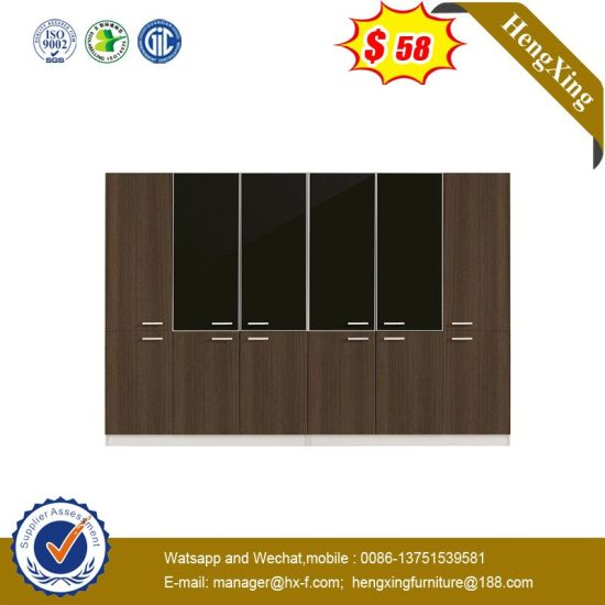 Modern Office Furniture Aluminum Glass Doors Bookcase Office Filing Cabinet pictures & photos