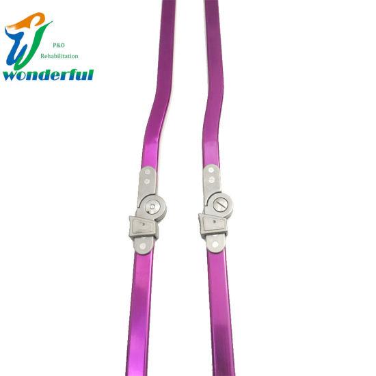 Adult Aluminum Purple Drop Lock Orthotics Knee