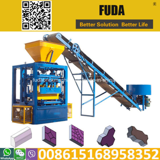 Qt4-24b Low Price Concrete Block Making Machine pictures & photos