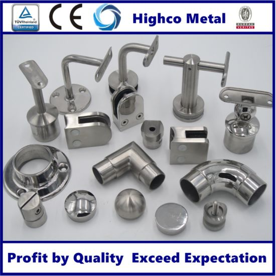 Stainless Steel Railing Handrail Balustrade Fittings