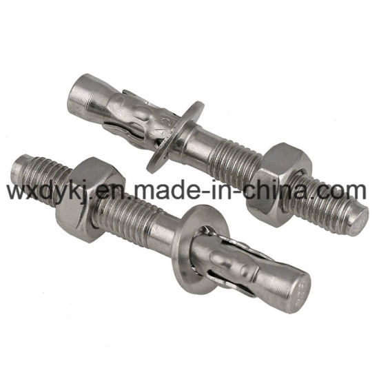 Stainless Steel Full Threaded Hexagon Wedge Anchor Bolt
