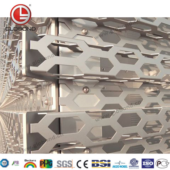 Globond Perforated Aluminum Panel with Customized Patterns pictures & photos