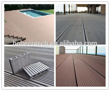 Water-Proof WPC Solid WPC Decking/Wood Plastic Composite Decking pictures & photos