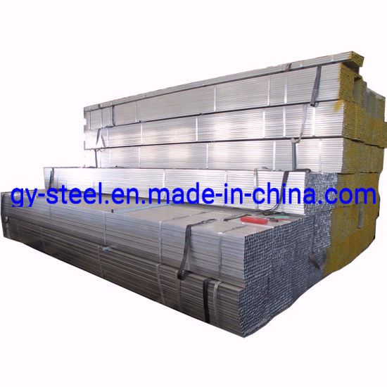 Galvanized Square Pipe / Rectangle Steel Pipe and Tubes